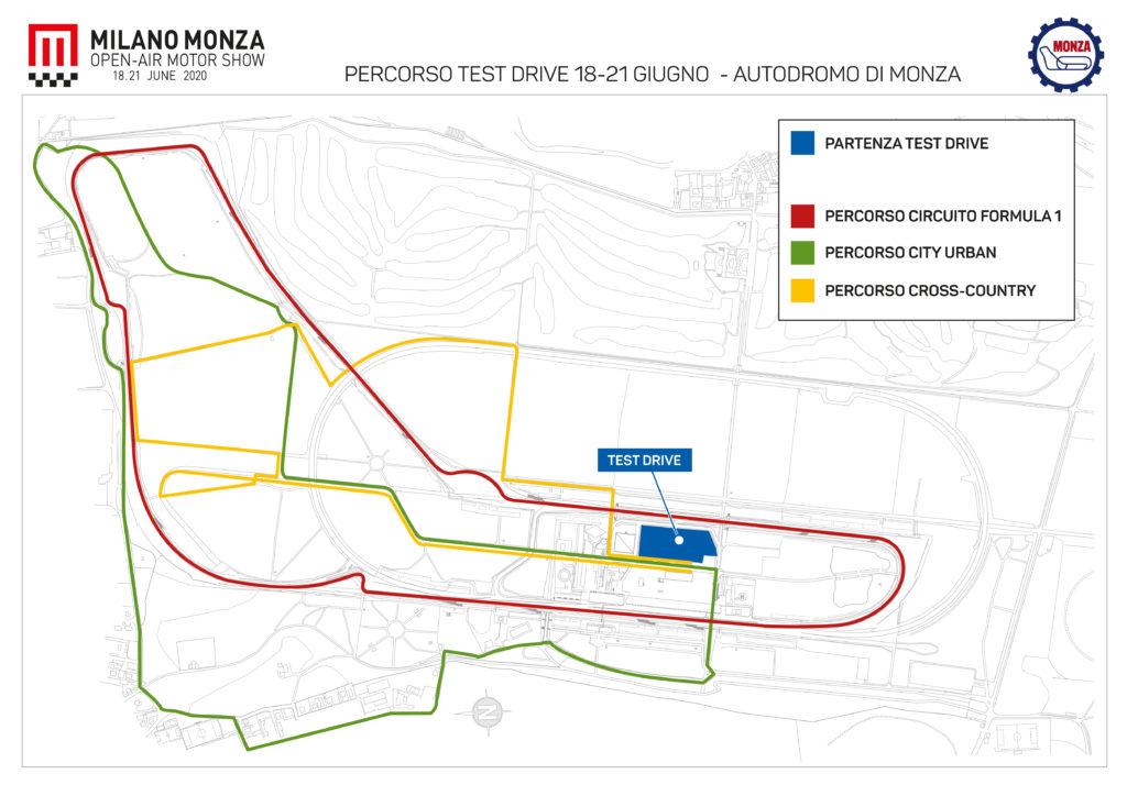 Milano Monza Open-Air Motor Show: test drive in pista con tutte le motorizzazioni a disposizione del pubblico