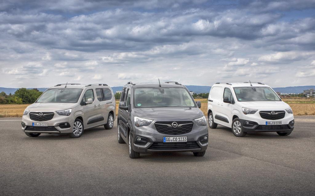 Opel Combo e Vivaro: i pack 'Opel 2020' per aumentare sicurezza e comfort