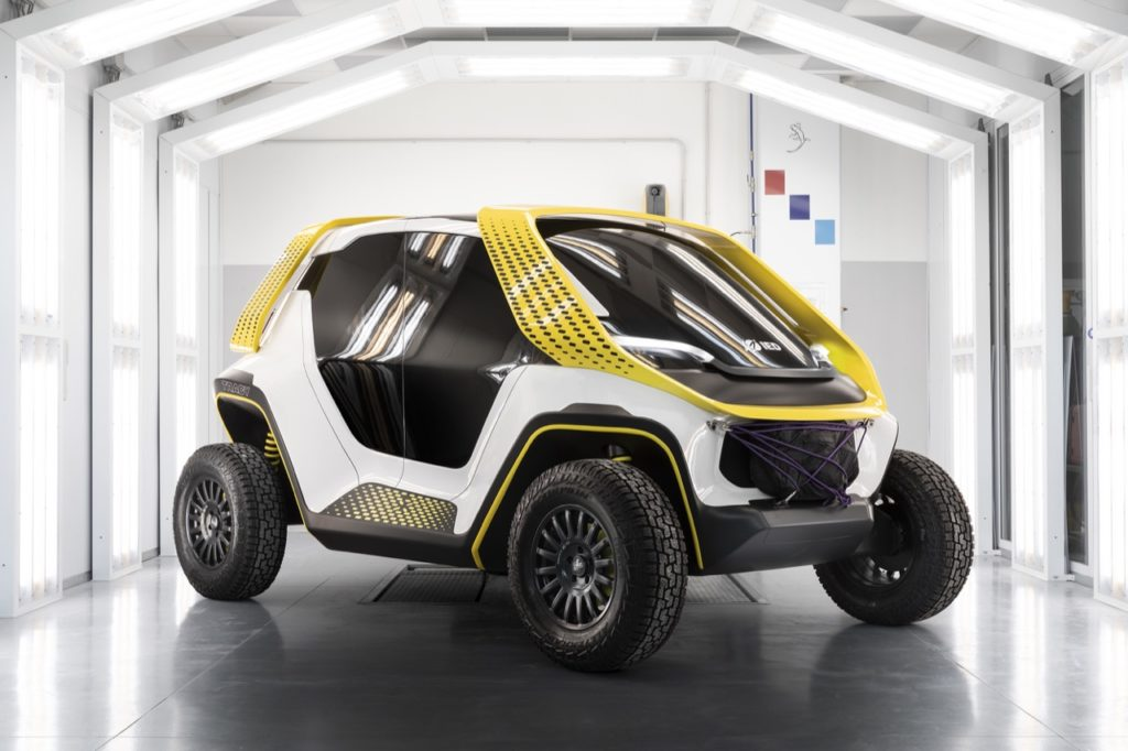 IED TRACY concept vehicle - foto