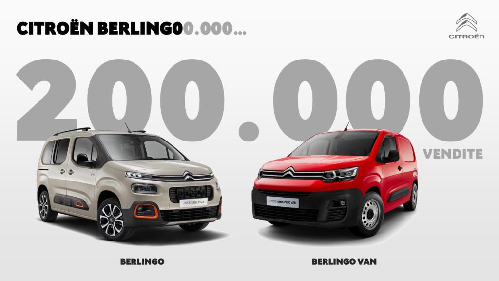 Citroën Berlingo: La terza generazione registra oltre 200.000 vendite