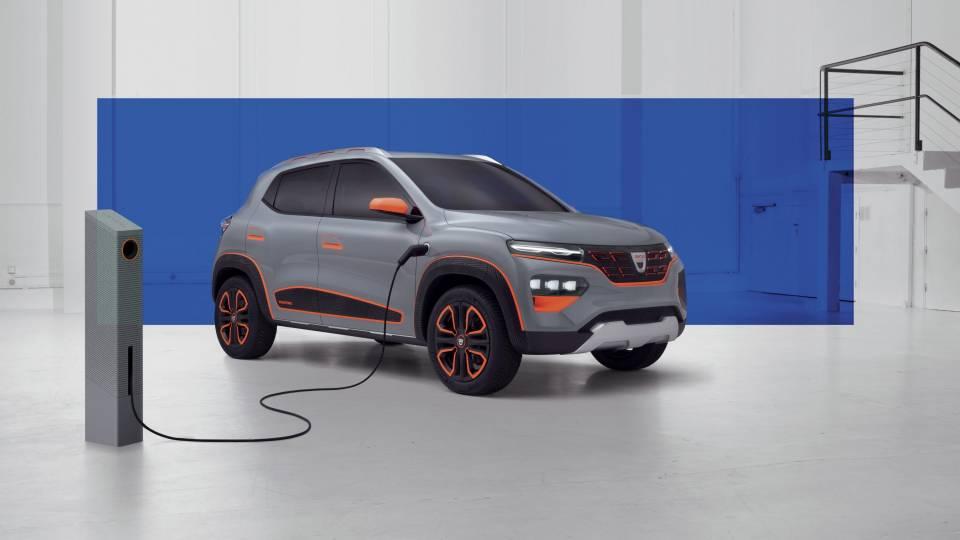 Dacia Spring: elettrica a basso costo nel 2021