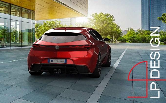 Nuova Alfa Romeo Brera: svelato il lato B del nuovo progetto di LP Design [RENDER]