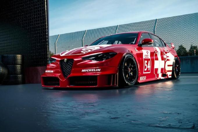 Alfa Romeo Giulia DTM: la berlina immaginata in versione racing [RENDERING]