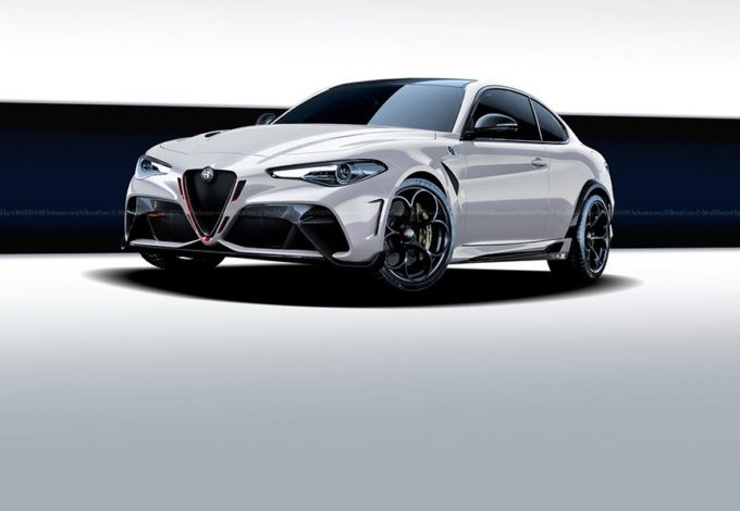 Alfa Romeo Giulia GTA Coupe: l'idea di una variante due porte della nuova sportiva [RENDERING]