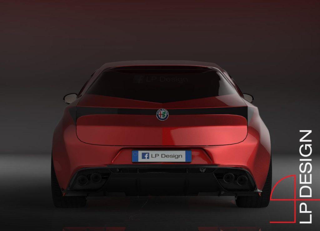 Alfa Romeo Brera Concept: l'immaginata zona posteriore di una nuova ipotesi [RENDERING]