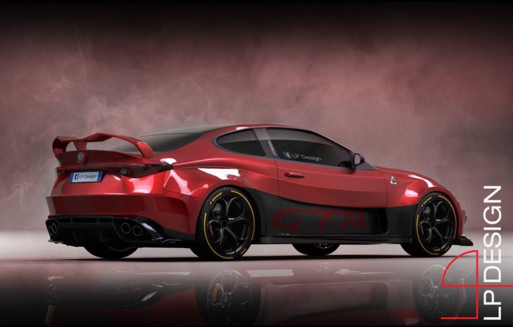Alfa Romeo GTV GTAm Concept: sognando ancora una nuova sportiva [RENDERING]