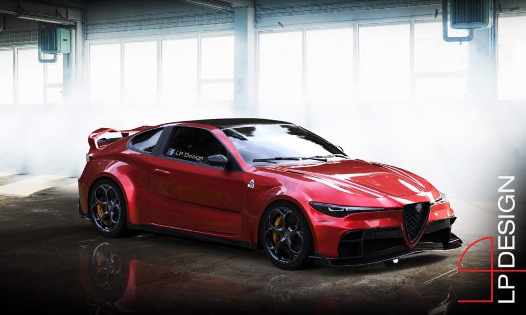 Alfa Romeo GTV GTAm: pensando a un'ipotetica coupé ad alte prestazioni [RENDERING]