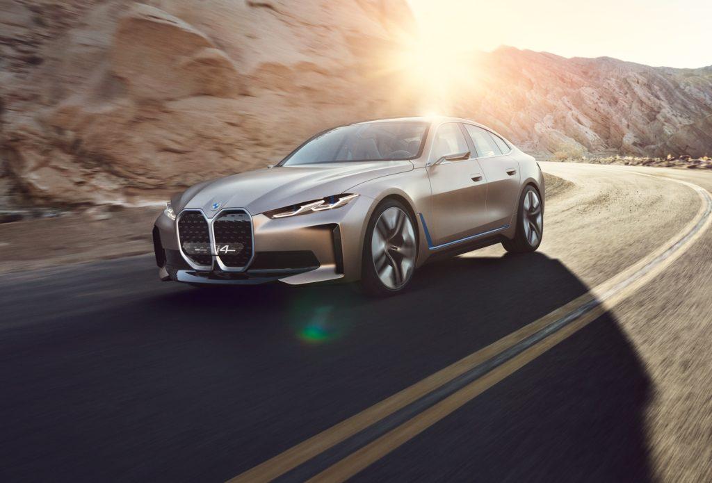 BMW Concept i4: l'elettrica col sound visionario [VIDEO]