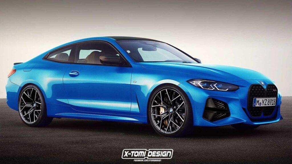 Nuova BMW M4 2020: ecco il render per la versione più potente della nuova coupè