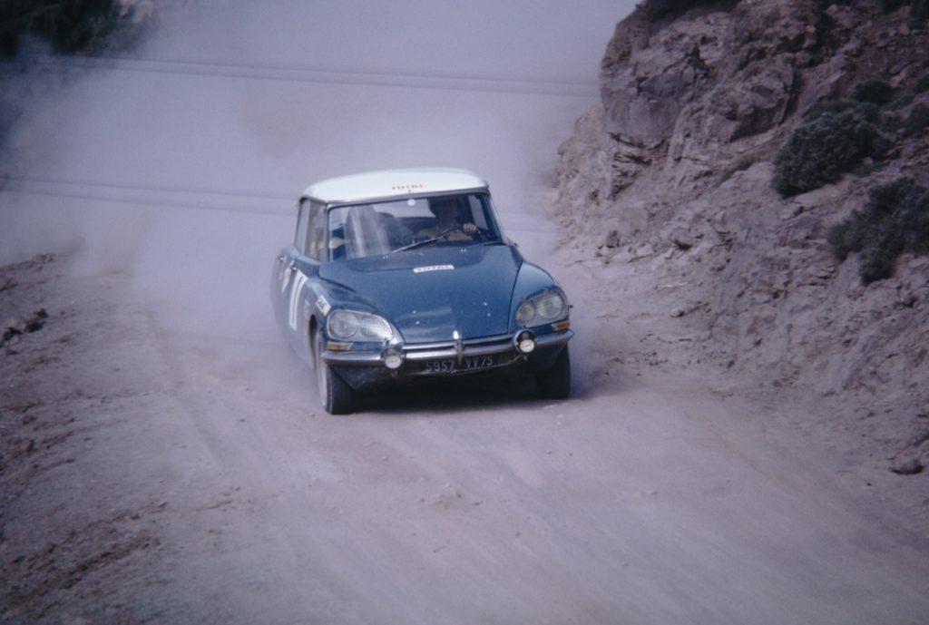 DS e SM nei rally - foto storiche