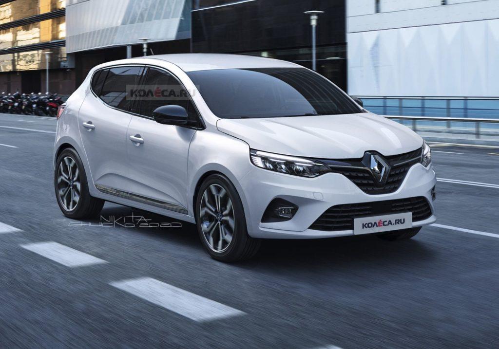 Nuova Dacia Sandero: RENDERING dell'utilitaria economica