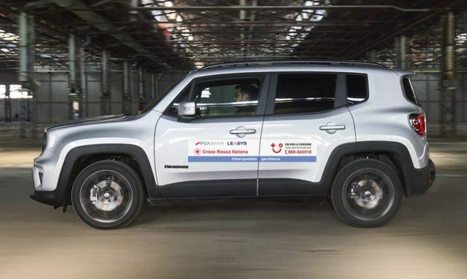 Emergenza Coronavirus, FCA mette 300 vetture e 5 ambulanze a disposizione della Croce Rossa Italiana