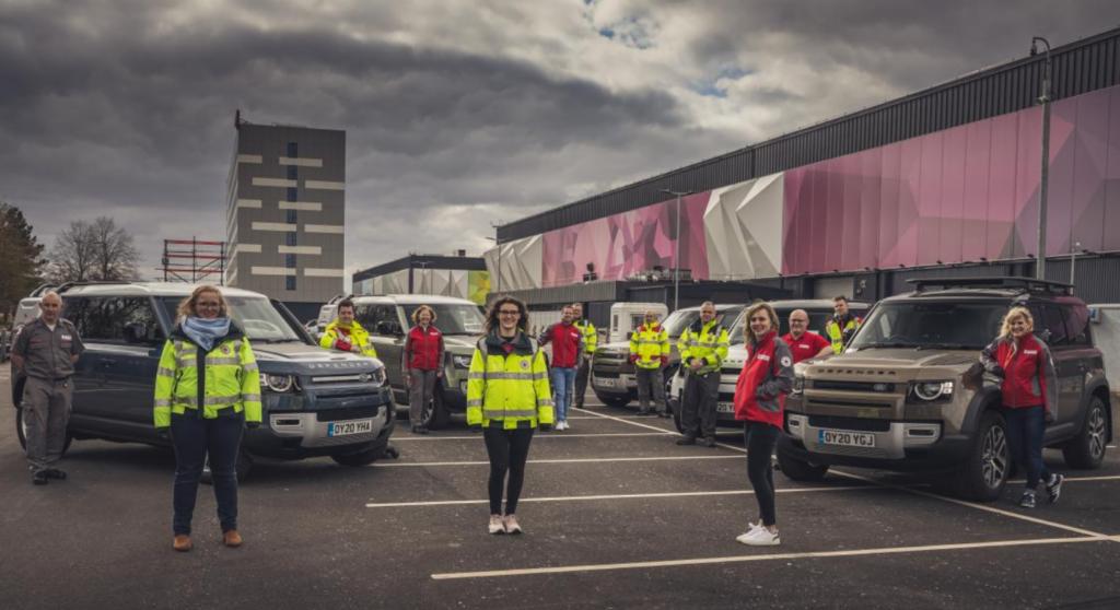 Coronavirus, Jaguar e Land Rover consegnano oltre 160 veicoli di supporto in tutto il mondo