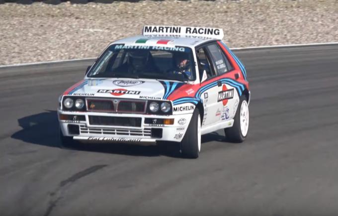 Lancia Delta HF Integrale Martini: due esemplari regalano spettacolo tra i cordoli [VIDEO]
