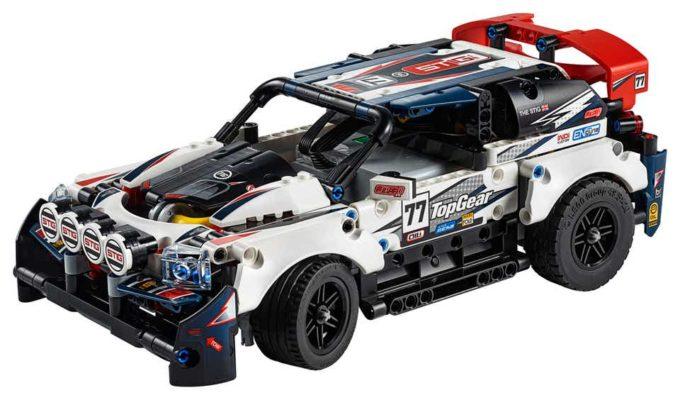 Lego - Auto da rally telecomandata - The Stig