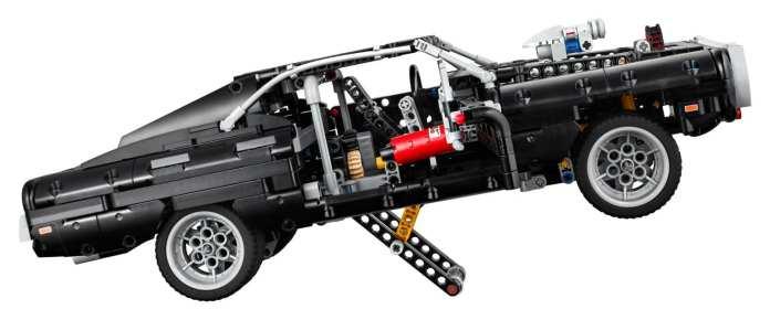 LEGO Technic Fast and Furious: la Dodge Charger di Toretto
