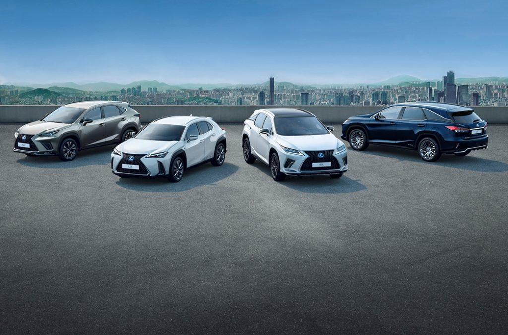 Lexus: le vendite dei SUV ibridi raggiungono quota 250.000 in Europa