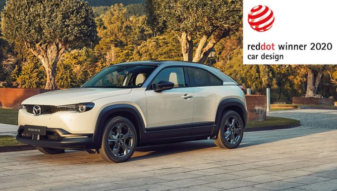 Mazda CX-30 e MX-30 premiate con il Red Dot: Product Design 2020