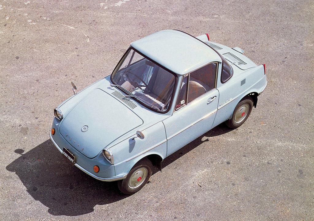 Mazda R360 Coupe: la microcar da primato che nel 1960 conquistò i giapponesi