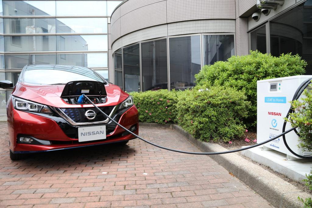 Nissan e 4R Energy premiate per la resilienza grazie ai veicoli elettrici
