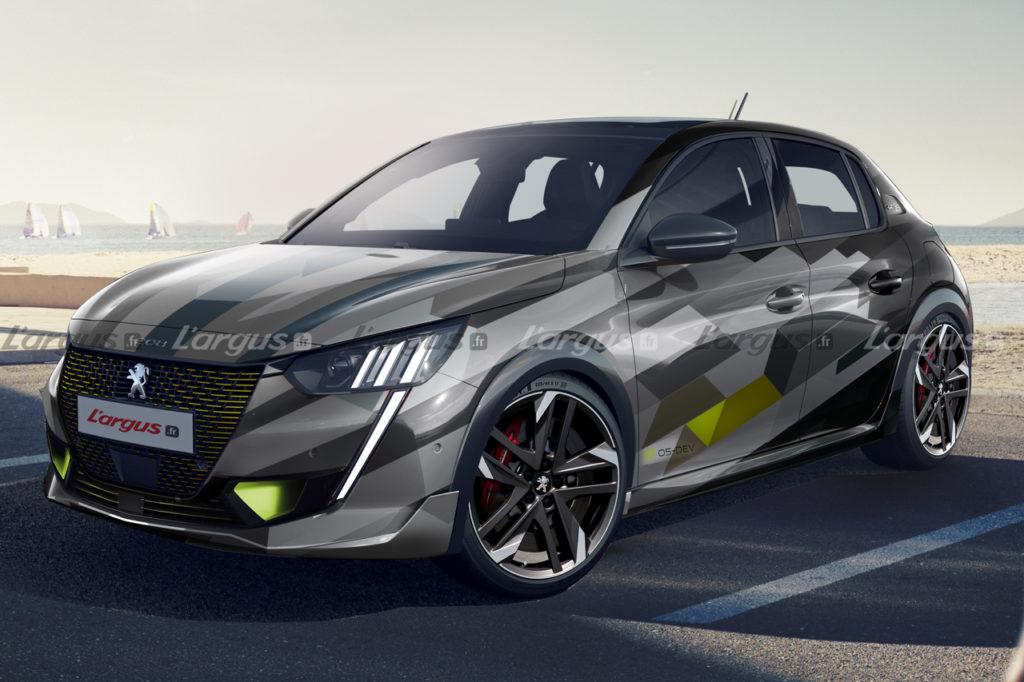 Peugeot 208 PSE: prime anticipazioni sull'elettrica a vocazione sportiva [RENDERING]