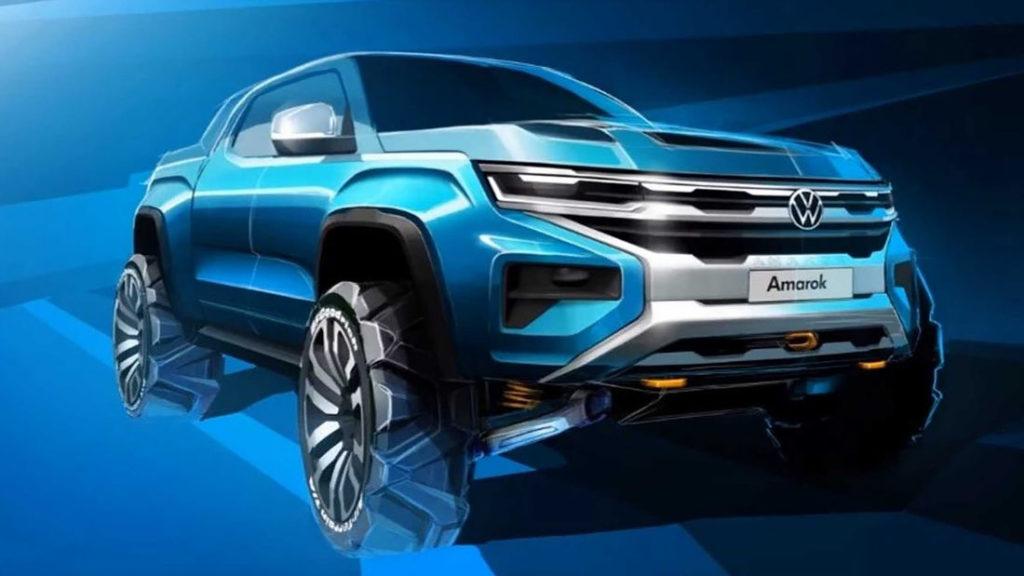 Volkswagen Amarok 2022 [TEASER UFFICIALE]