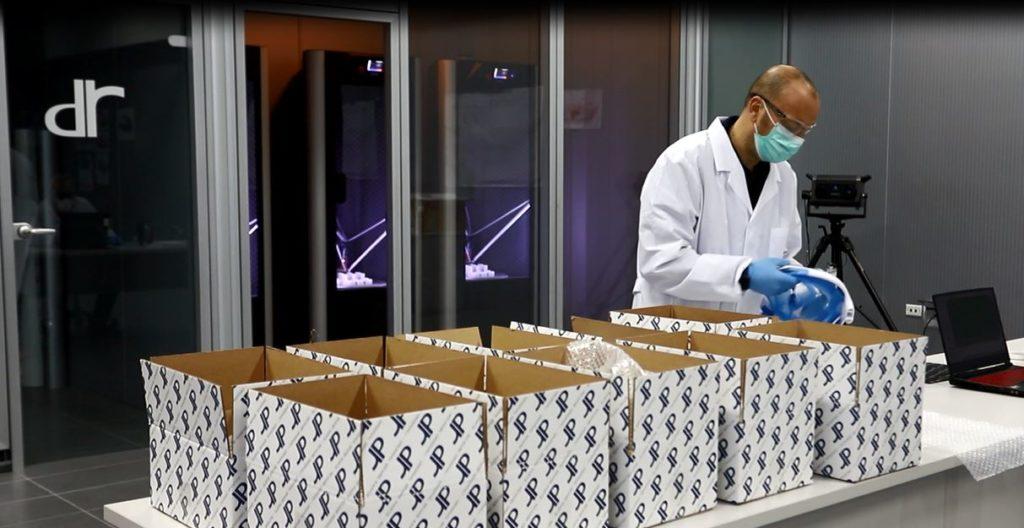 Coronavirus, DR riconverte la produzione per la realizzazione di un presidio sanitario di ventilazione assistita