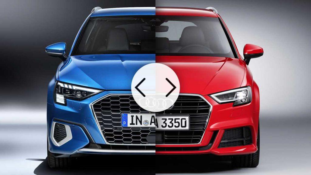 Audi A3 2020 VS Audi A3 2016: il confronto