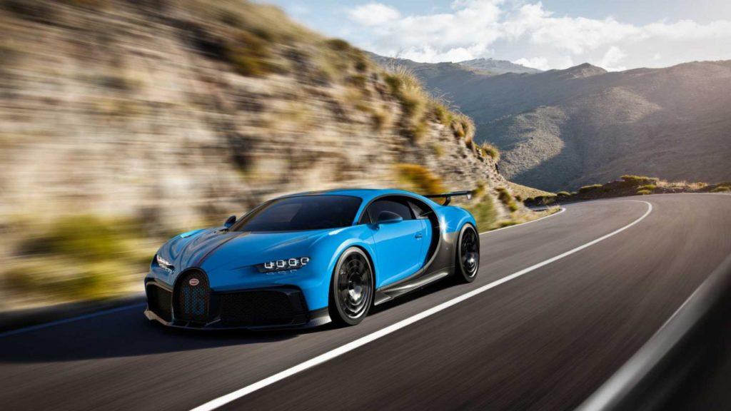 Bugatti Chiron Pur Sport: la nuova hypercar che pone l'accento sulle performance [FOTO]