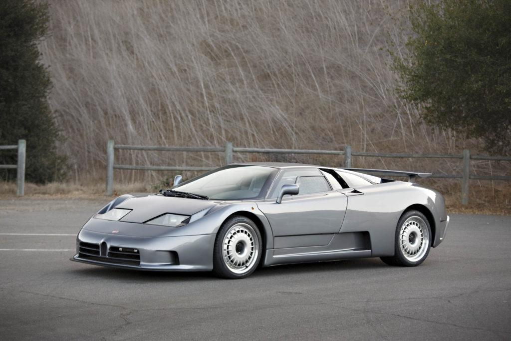 Bugatti EB110 GT all'asta: era l'auto più veloce al mondo