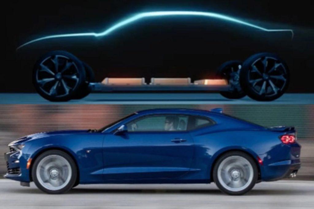 Chevrolet Camaro 2021: GM sta pensando ad una versione 100% elettrica