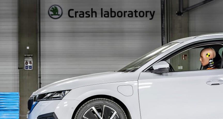 Skoda: inaugurato un nuovo centro per i crash test