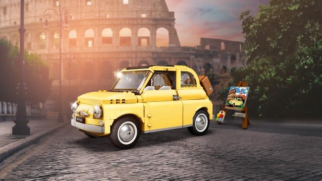 Fiat 500 di Lego: il nuovo modellino Creator Expert per il 2020
