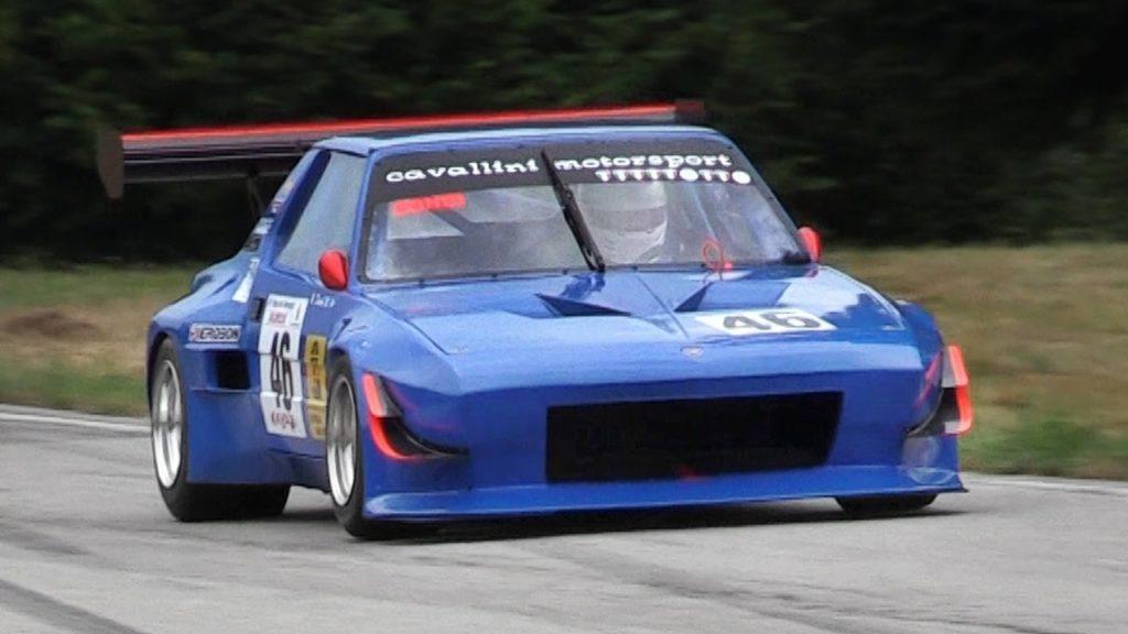 Fiat X1/9 Proto con motore Alfa Romeo 2.0 D2: il VIDEO dell'Hillclimb