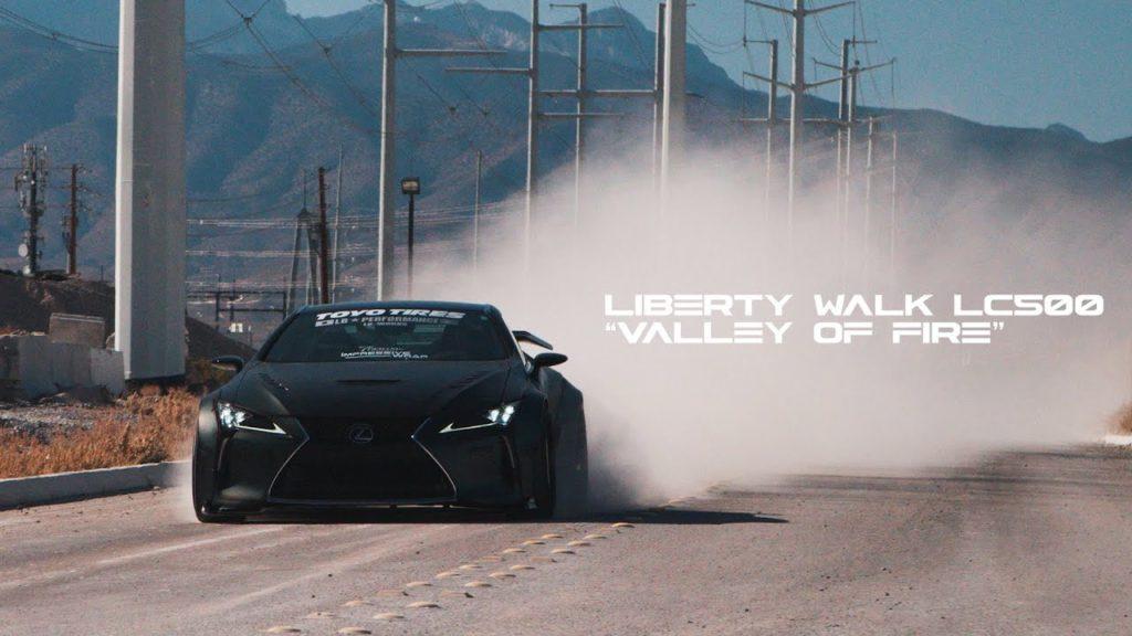 Lexus LC 500 2020: stupenda con il bodykit Liberty Walk [VIDEO]