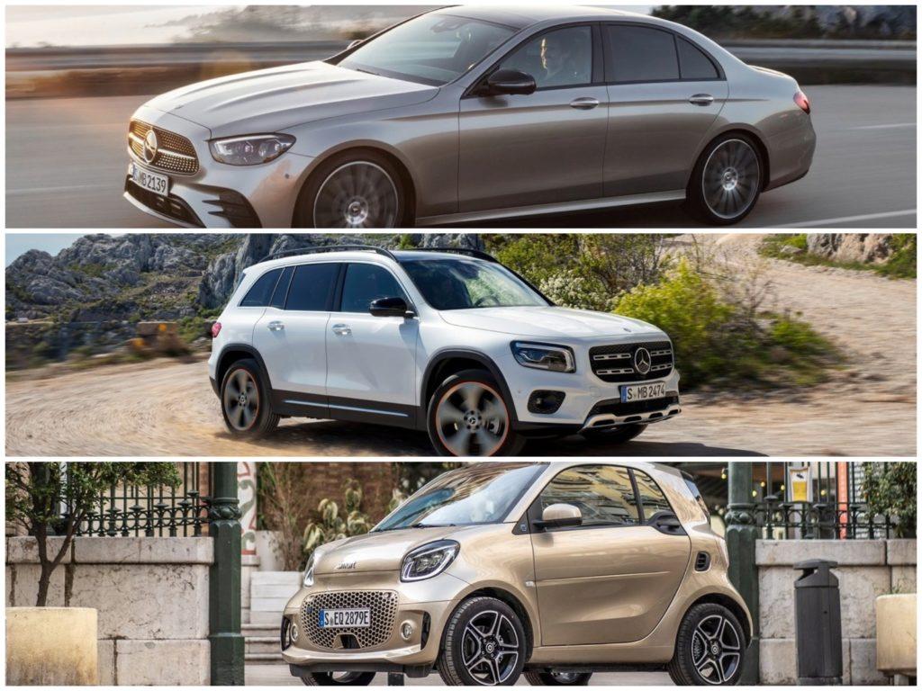 Nuova Mercedes Classe E, GLA, Smart e deserto: i tanti volti della Stella [VIDEO]