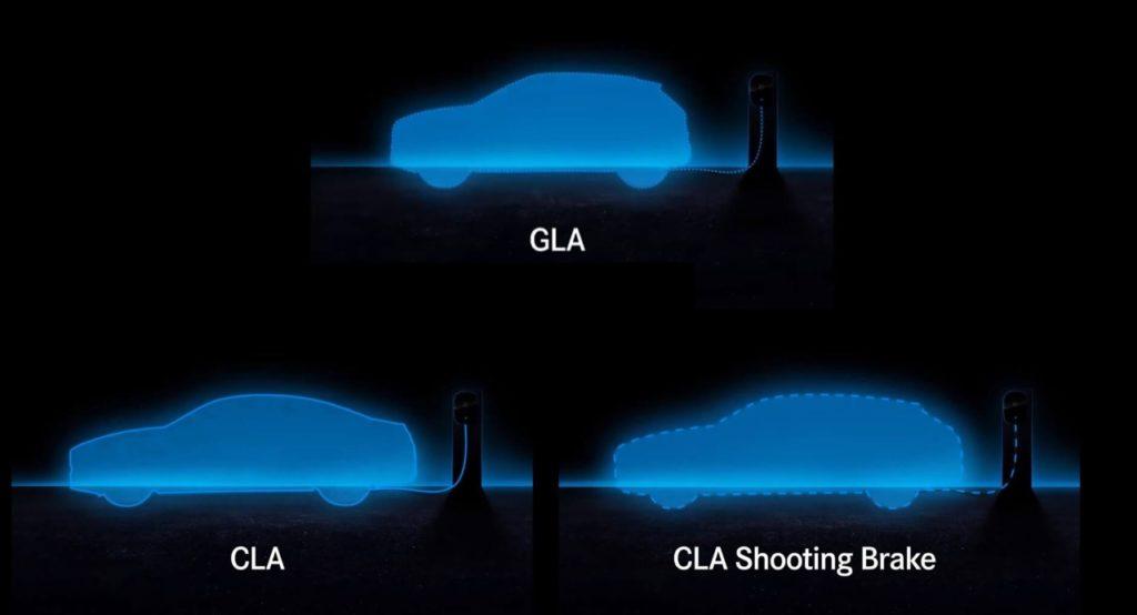 Mercedes Ibrido Plug-In: arrivano le nuove GLA, CLA e CLA Shooting Brake ricaricabili