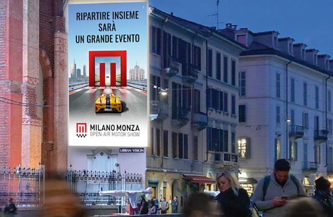 Milano Monza Open-Air Motor Show 2020: stand più snelli per favorire gli espositori