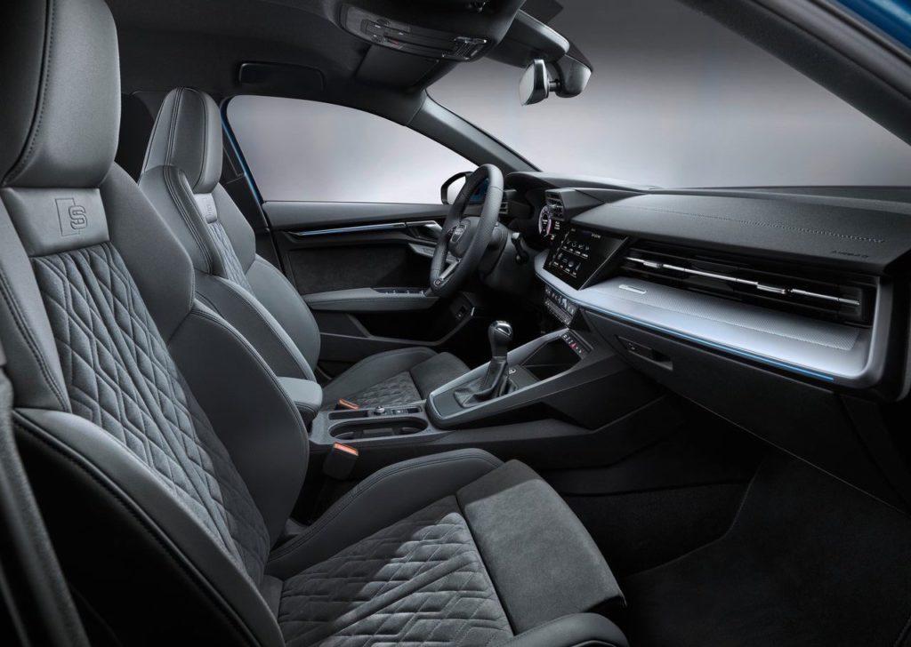 Nuova Audi A3 con rivestimenti sedili in plastica riciclata