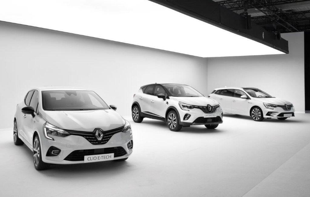 Nuove Renault ibride E-Tech: spirito pionieristico derivato dalla Formula 1