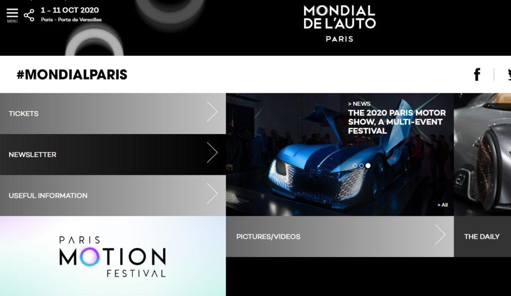 Salone di Parigi 2020: salta a causa del Coronavirus