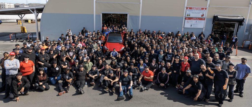 Tesla: il primo produttore di auto eletriche nel mondo, supera il milione di unità
