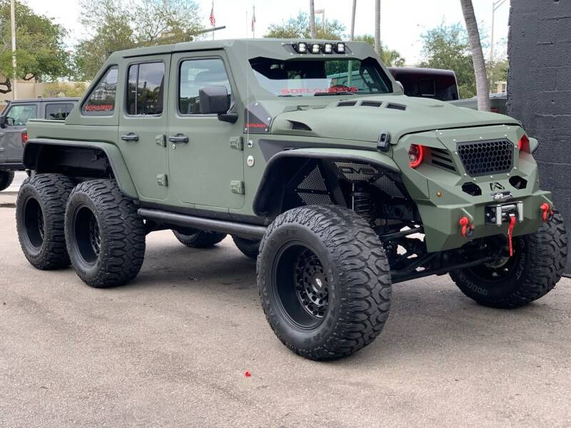 SoFlo Jeep E 6 × 6 2020