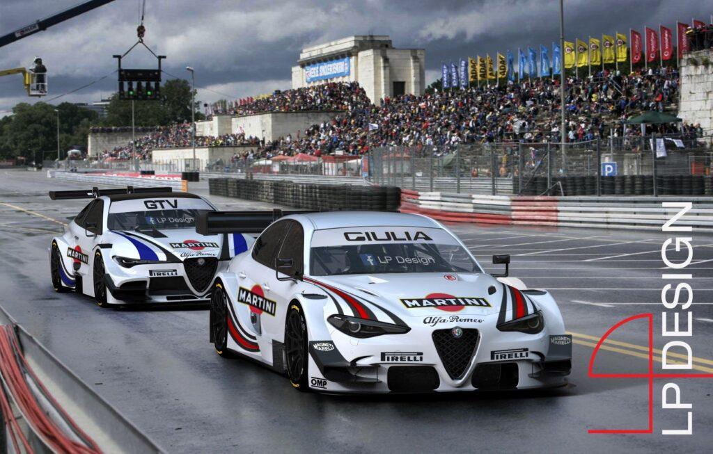 Alfa Romeo Giulia e GTV DTM: accoppiata da corsa per rivitalizzare la serie turismo [RENDER]