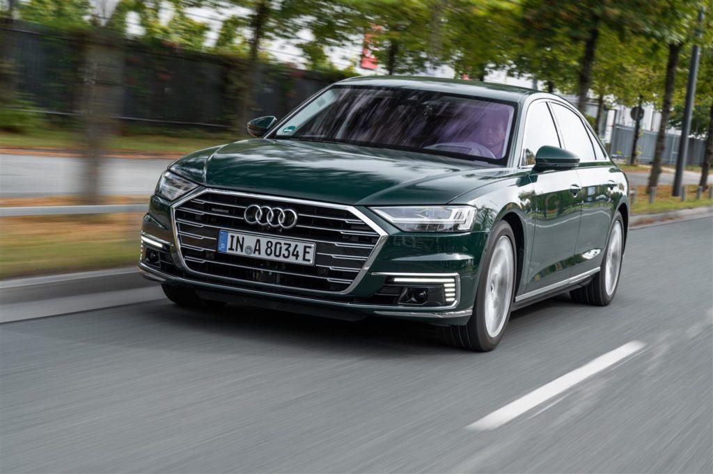 Audi A8, la gamma si arricchisce di due nuove motorizzazioni mild-hybrid