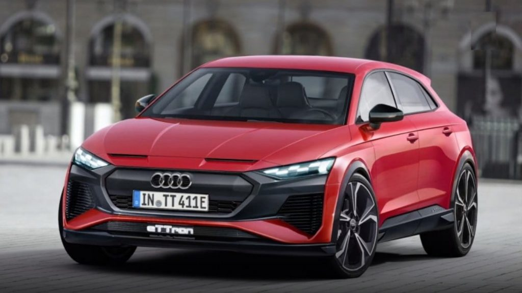 Nuova Audi TT e-tron: diventerà un SUV elettrico a 4 posti