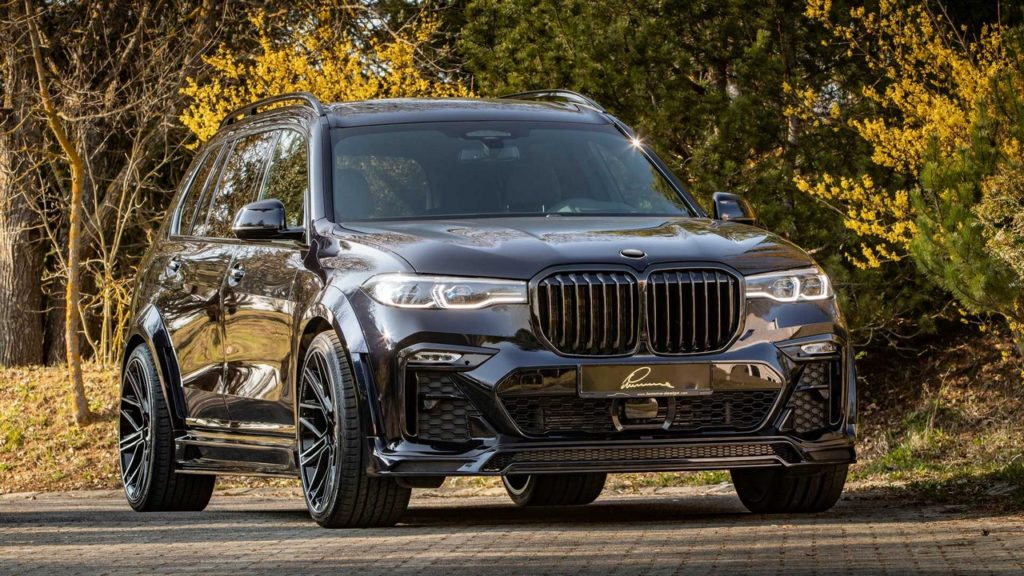 BMW X7 CLR LUMMA DESIGN