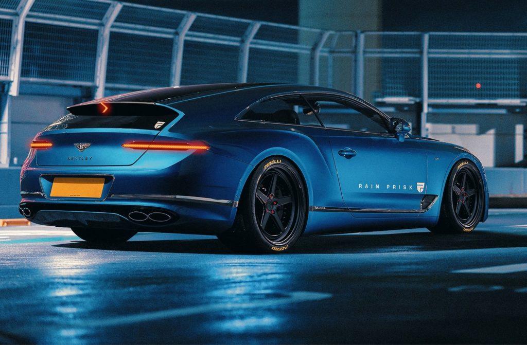 Bentley Continental GT Shooting Brake: ecco come potrebbe essere [RENDERING]