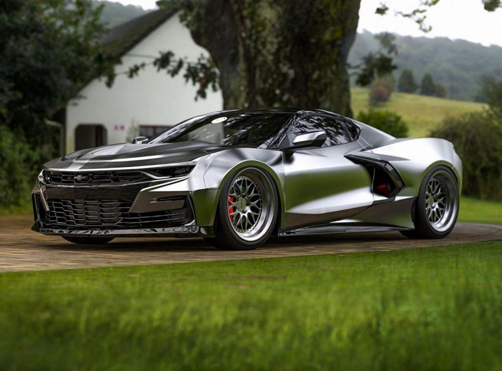 Chevrolet Camaro render