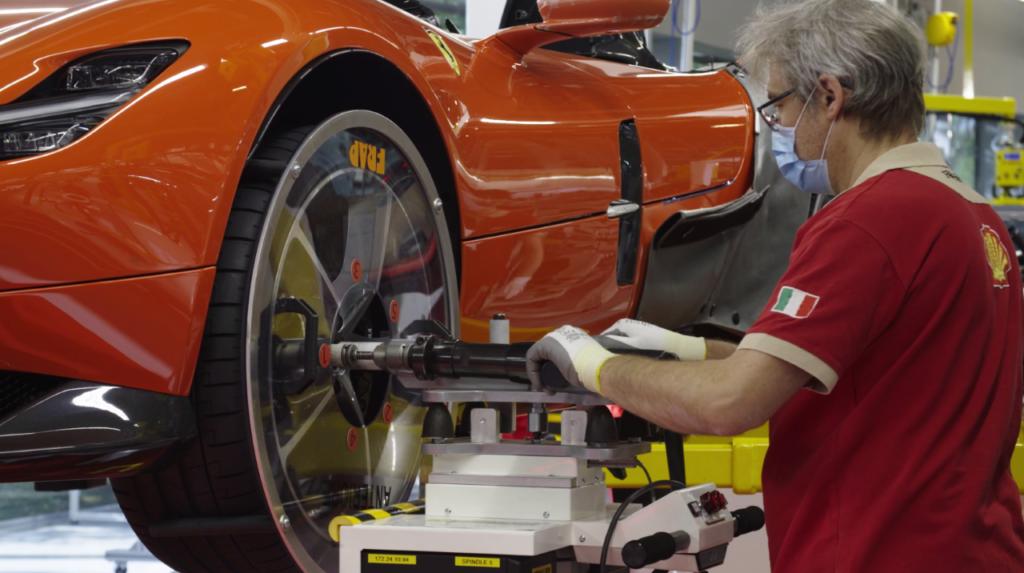 Ferrari - La ripresa della produzione